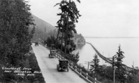Chuckanut Drive in the 1920's