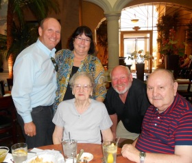 Celebrating Grandmom's 100th Birthday in Phoenix!