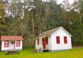 Early 1900's One-Room Schoolhouse, Stuart Island