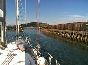 Leaving Anacortes Marina