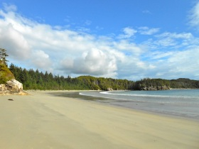 West Beach on Calvert Island