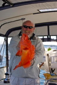 Marty's red snapper!