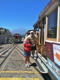 Cable car fun!