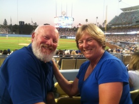 Awesome seats at Dodger Stadium!
