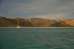 Bahia San Gabriel on Isla Espiritu Santo