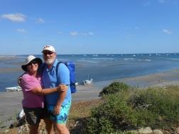 The anchorage at Bahia Santa Maria
