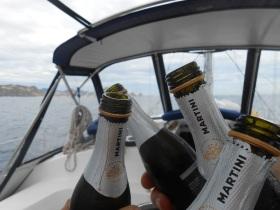 Champagne salute