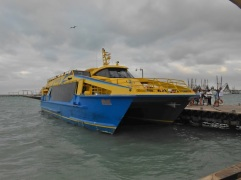 The ferry to Isla Mujeres