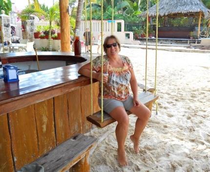 Beach Bar in Isla Mujeres
