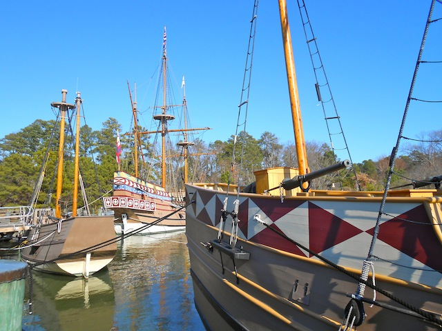 The ships of Jamestown.