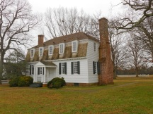 The Moore House, in Yorktown.