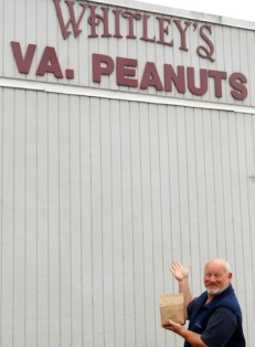 Virginia peanuts, anyone?