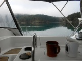 First coffee on the hook