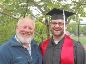 Happy Dad and Happy Grad