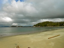 West beach, Pruth Bay