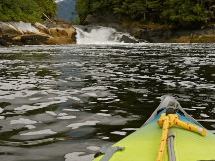 Verney Falls in Lowe Inlet