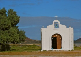 The church in Las Salina