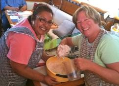 Tortilla lessons from Teresa!