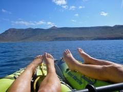 Floating along...