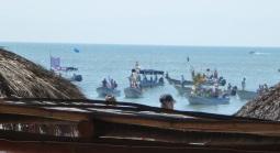 The boat parade