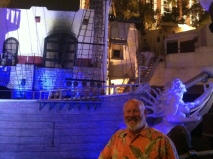 Marty and the pirate ship