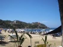 The beach at Sayulita