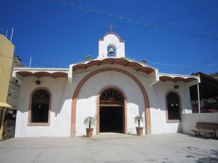 The church in Sayulita