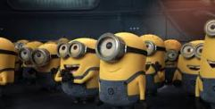 Just in case you didn't know what a minion was (I had to look it up!)