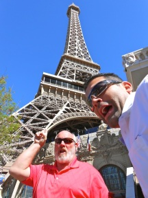 Getting photo-bombed in Las Vegas