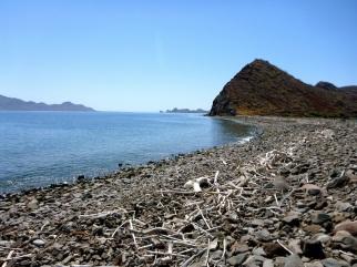 Looking east toward Isla Carmen