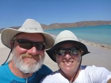 Yet another selfie on Isla Carmen