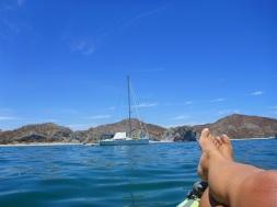 Kayaking and chillaxin'