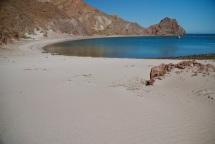 Powdery sand