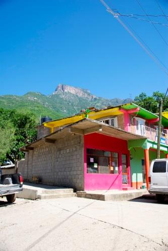 Colorful buildings of Urique