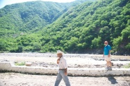 Walking the river with Sherriff Jorge