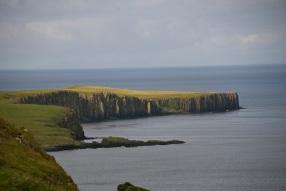 Winding shoreline