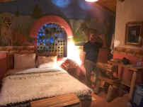 Our rustic room