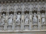 That's Martin Luther King above the entrance of Westminster!