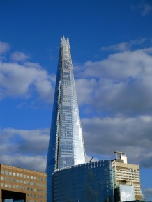 The Shard...gorgeous glass tower