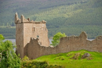The Grant Tower at Urquart Castle