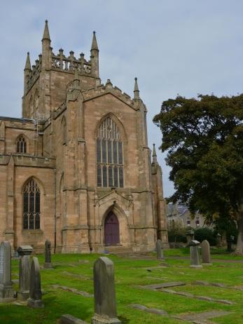 The abbey church