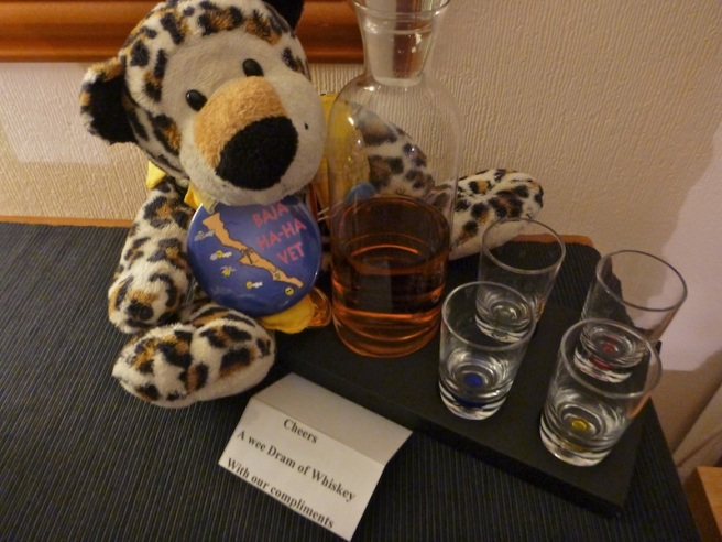 Love a B&B that provides a wee small dram!