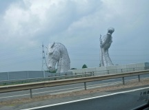 Taken along the freeway - HUGE sculpture!