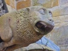 Doorman at Rosslyn Chapel