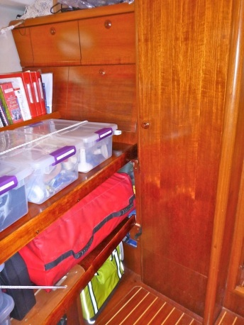 After...where the vanity table was...