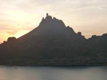 Tetas de Cabra mountain (goat teats)