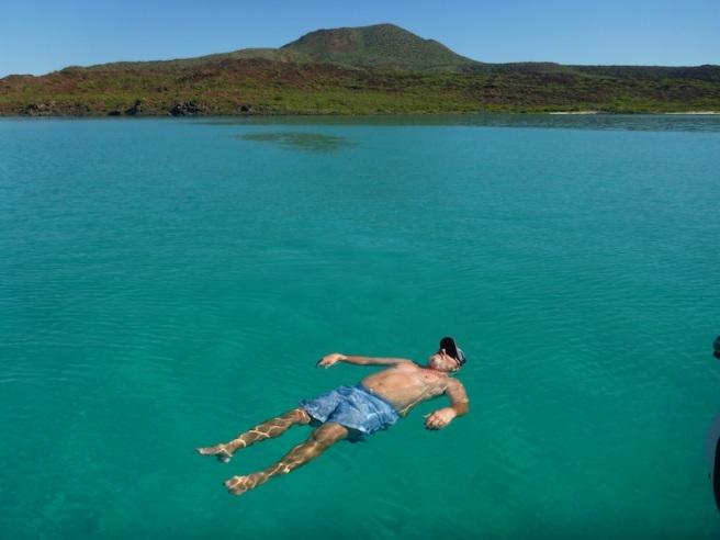 He floats!