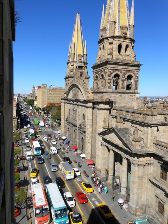 Beautiful busy Guadalajara