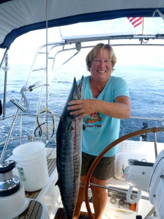 Our first Wahoo!