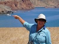 Hiking on Isla Angel de la Guardia